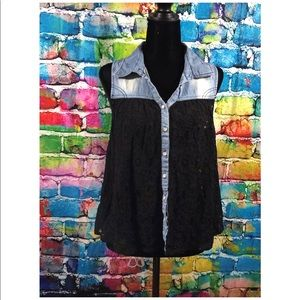 lovestitch Collar Blouse Size Small